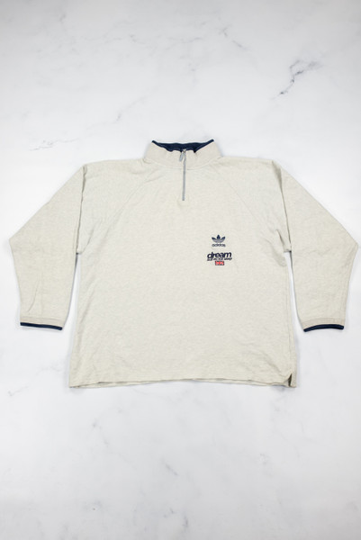 Reworked Vintage Adidas Quarter Zip