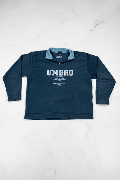 Reworked Vintage Umbro Quarter Zip