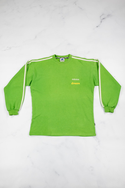 Reworked Vintage Adidas Dream Sweatshirt