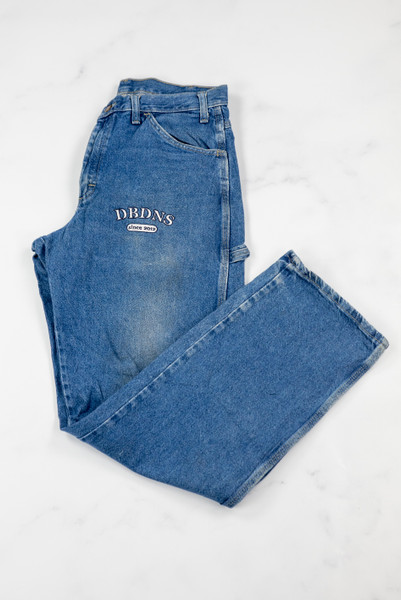 Reworked Vintage Dickies Denim Jeans