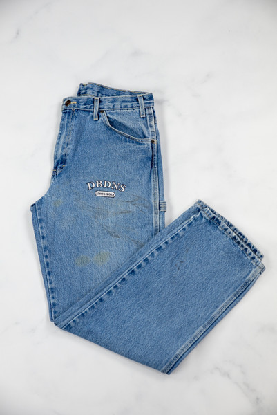 Reworked Vintage Dickies Blue Denim