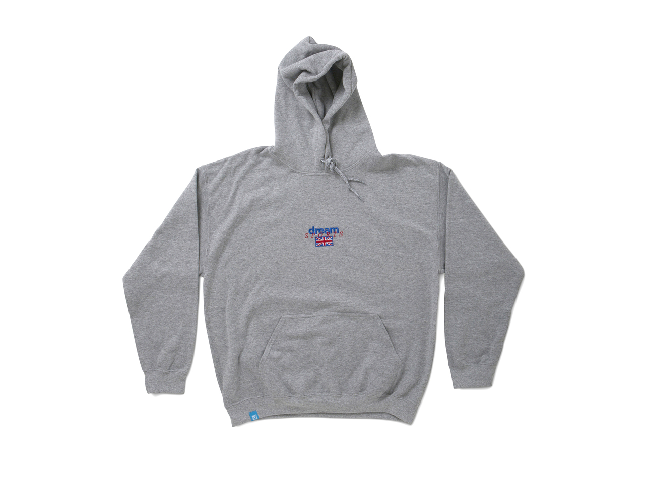 1c8620b7f82 Heather Grey Hoodie With Dream Sports Design - Dream But Do Not ...
