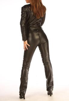 Maßanfertigung Leder Catsuit Jumpsuit Spielanzug für Damen und Herren