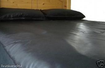 Vollnarbenleder Einzelbett Spannbettlaken