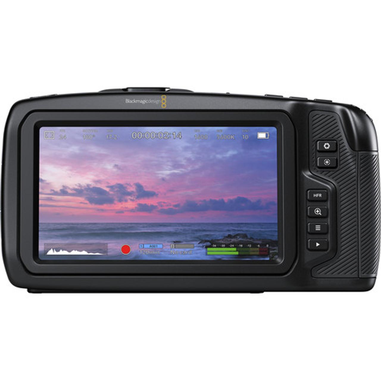 Blackmagic Design Pocket Cinema Camera 4k Body Only Auckland Nz