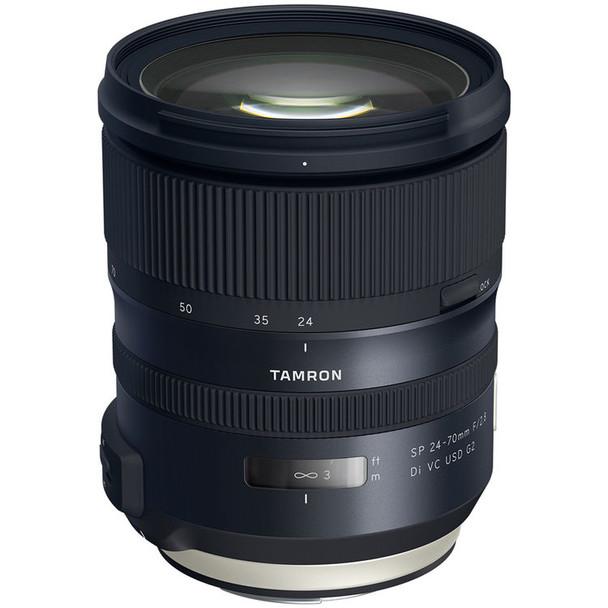 Tamron SP 24-70mm f/2.8 DI VC USD G2 Lens - Canon & $200 Cashback