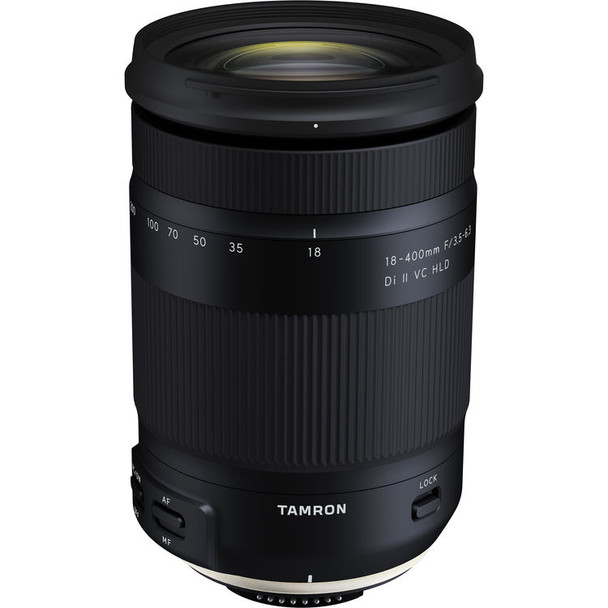 Tamron 18-400mm f/3.5-6.3 Di II VC HLD Lens - Canon & $100 Cashback