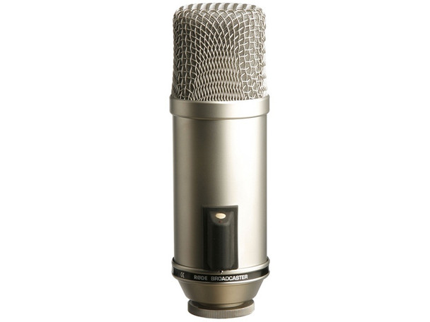 RODE BROADCASTER PRECISION 1 INCH CARDIOID ENDADDRESS CONDENSER MICROPHONE