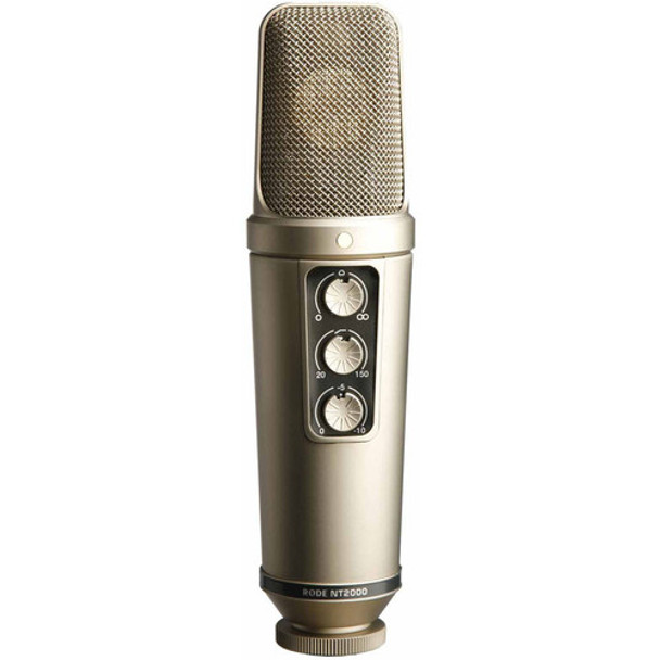RODE NT2000 VARIABLE DUAL 1 INCH CONDENSER STUDIO MICROPHONE