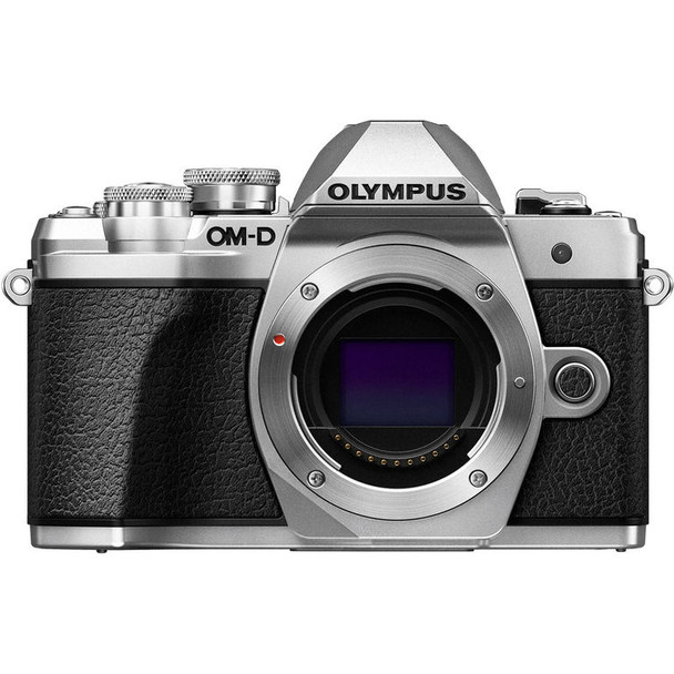 Olympus OM-D E-M10 Mark III Silver + get a chance to win back!