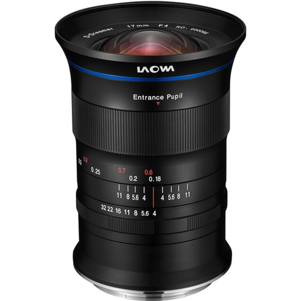 Laowa 17mm f/4 GFX Zero-D Lens for FUJIFILM G