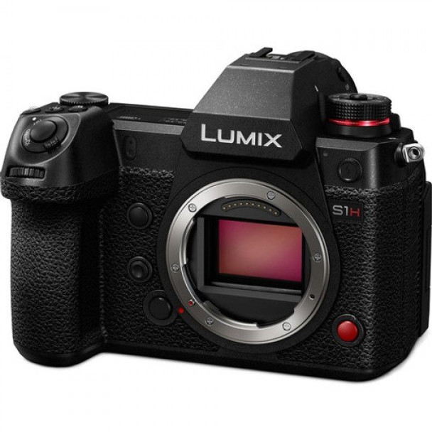 Panasonic Lumix DC-S1H Mirrorless Digital Camera (Body Only) + Bonus Battery Grip