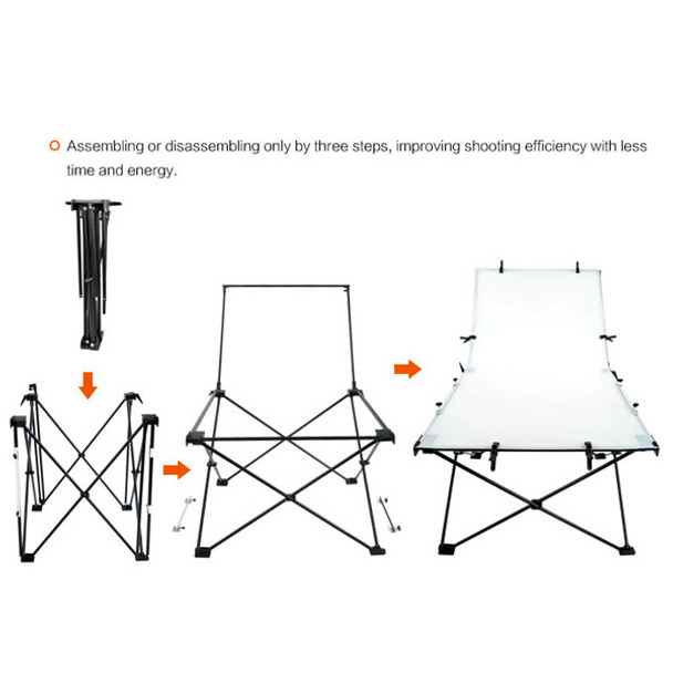 Godox Foldable Photography Table 1*2m