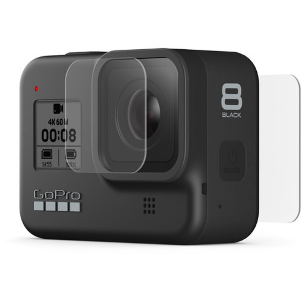 GoPro Tempered Glass Lens + Screen Protectors (Hero 8 Black)