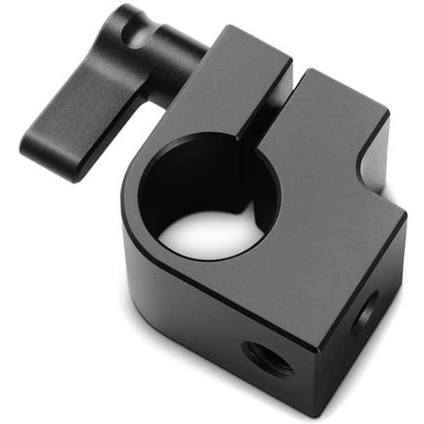 "SmallRig Single 15mm Rod Clamp with Two 1/4""-20 Threads"