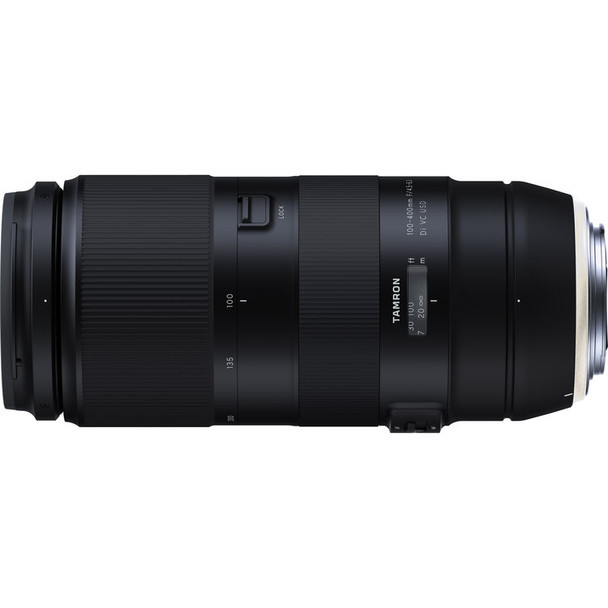 Tamron 100-400mm f/4.5-6.3 Di VC USD Lens for Canon & $100 Cashback
