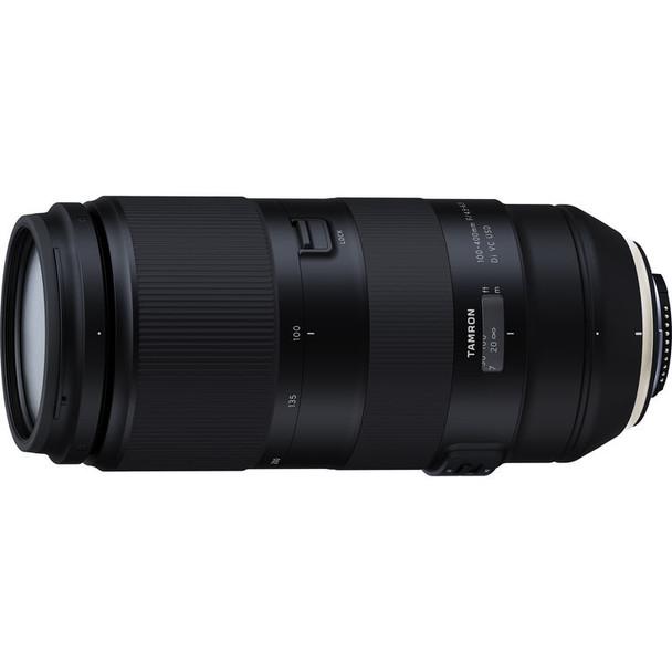 Tamron 100-400mm f/4.5-6.3 Di VC USD Lens for Nikon & $100 Cashback