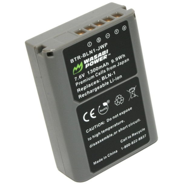 Wasabi Power Battery for Olympus BLN-1