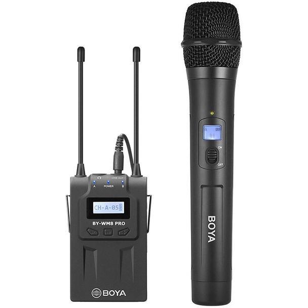 BOYA BY-WM8 Pro-K3 UHF Wireless Microphone and Receiver