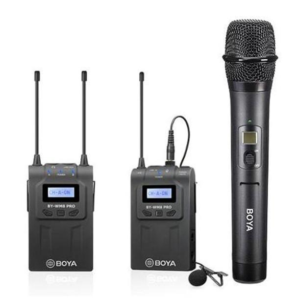 BOYA BY-WM8 Pro-K4 Dual Channel Wireless Mic Kit