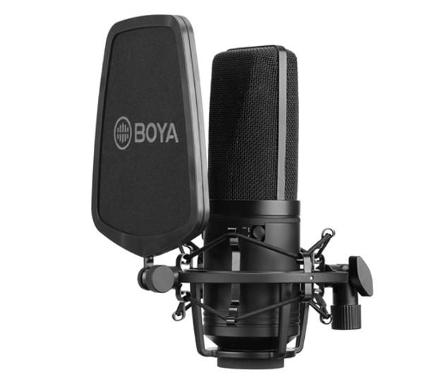 BOYA BY-M1000 Large-Diaphragm Condenser Microphone