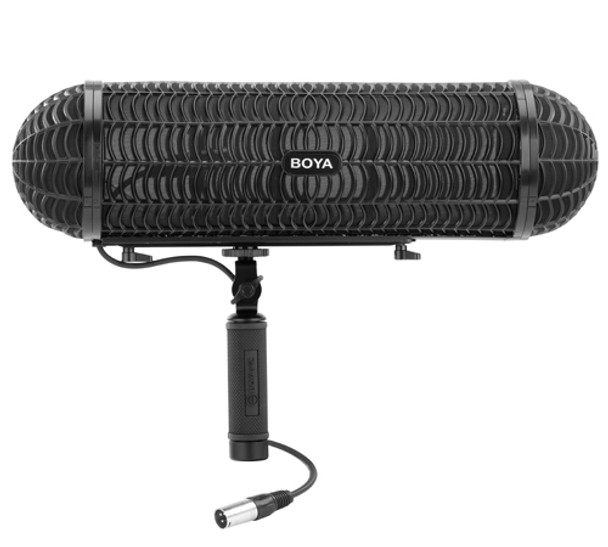 BOYA BY-WS1000 Professional Windshield & Suspension System for Shotgun Microphones