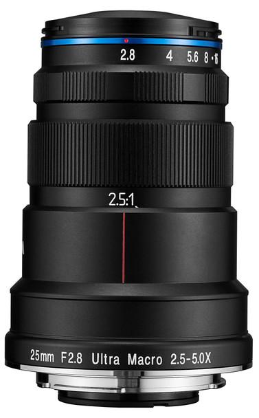 Laowa 25mm f/2.8 2.5X - 5X Ultra Macro Lens For Sony