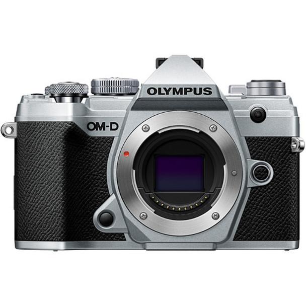 Olympus OM-D E-M5 III Body Only Silver & FREE Visa Card