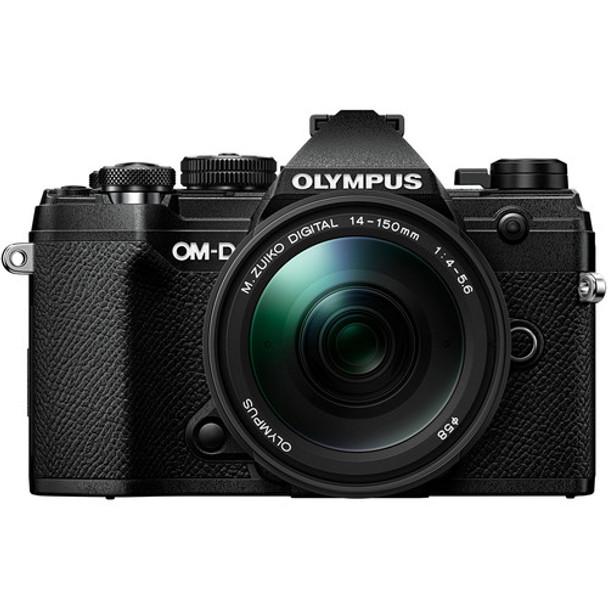Olympus OM-D E-M5 III with 14-150mm Black + BONUS 25mm F1.8 Lens & Explorer Pack