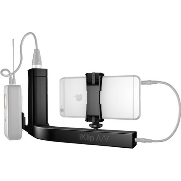 IK Multimedia A/V Smartphone Grip & Mic Preamp