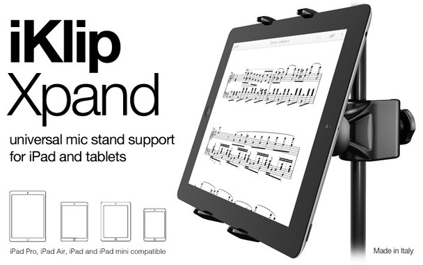 IK Multimedia iKlip Xpand Mic Stand Mount for Tablets