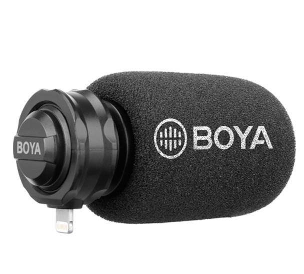 BOYA BY-DM200 Plug on Microphone with Lightning adapter
