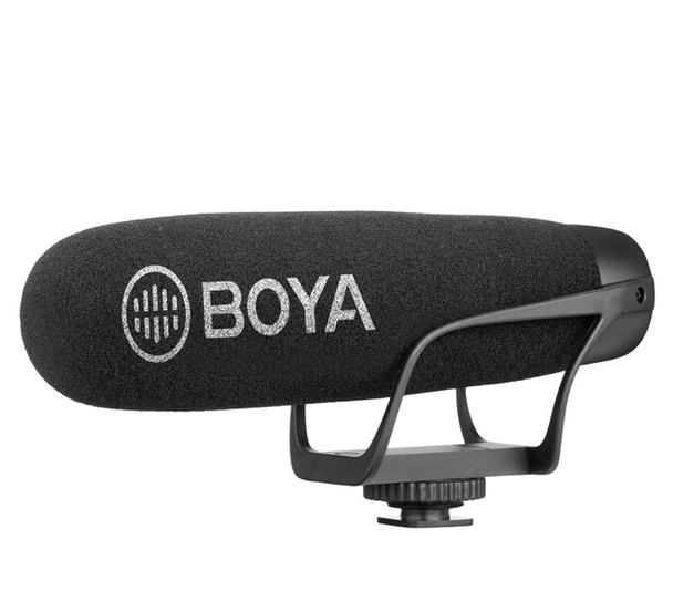 BOYA BY-BM2021 Wired On-Camera Shotgun Microphone (For Smartphone & DSLRs)