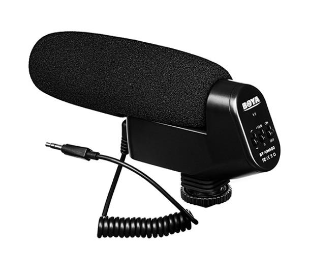 BOYA BY-VM600 Shotgun Condenser Microphone