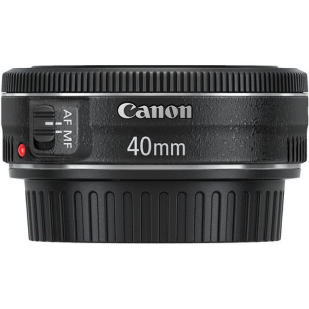 Canon EF 40mm f/2.8 STM Lens & $50 cashback