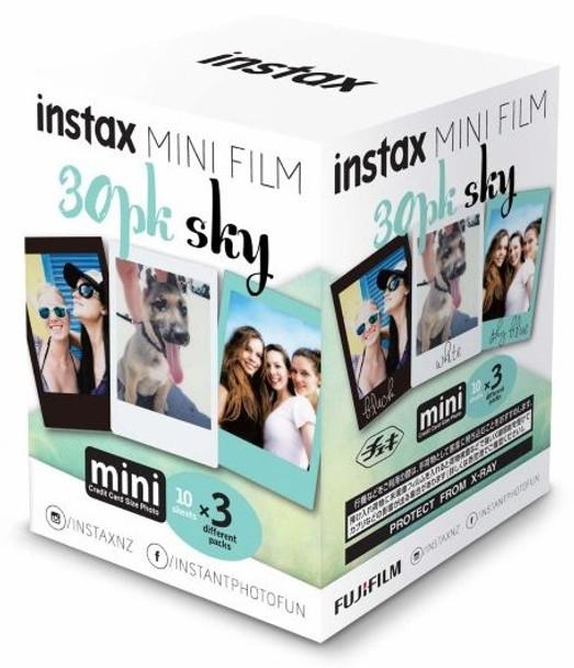 Fujifilm Instax Mini Film 30 Pack Sky