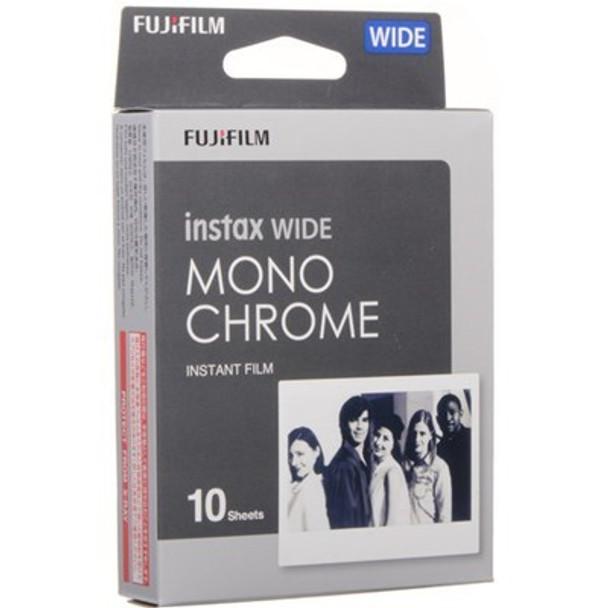 Fujifilm Instax Wide Film 10 Pack Monochrome