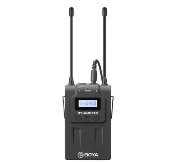 BOYA RX8 Pro Dual Channel UHF Wireless Receiver