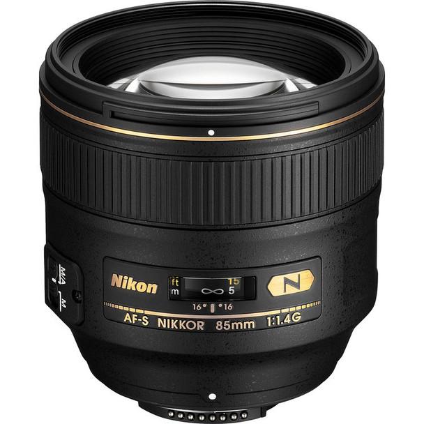 Nikon AF-S NIKKOR 85mm f/1.4G Lens & $125 Cashback