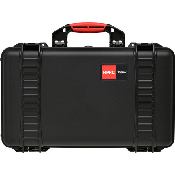 HPRC 2550W Water Resistant Hard Case with Second Skin and Built-In Wheels