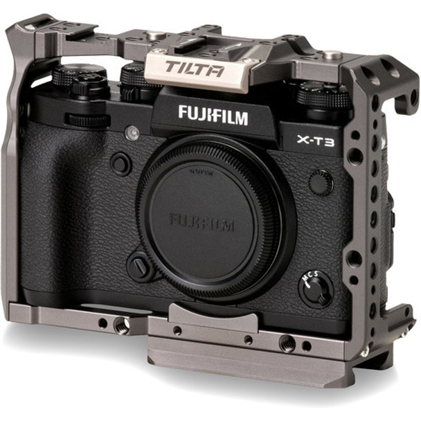 Tilta Full Camera Cage for Fuji  XT3- Tilta Grey