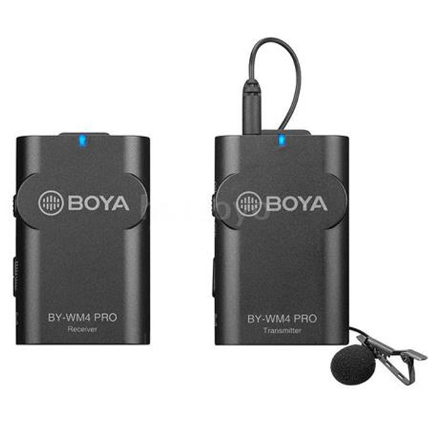 Boya BY-WM4 PRO K1 Dual-Channel Digital Wireless Microphone System