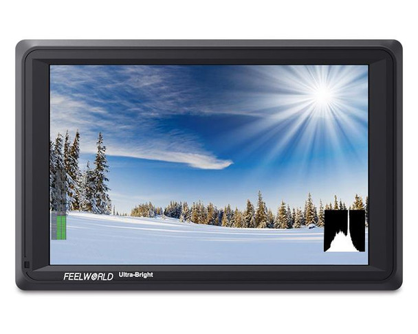 "Feelworld FW279S 7"" 2200nit On-Camera Field Monitor"