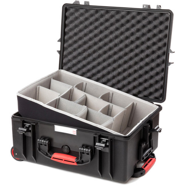 HPRC 2600W Rolling Resin Case with Dividers Kit