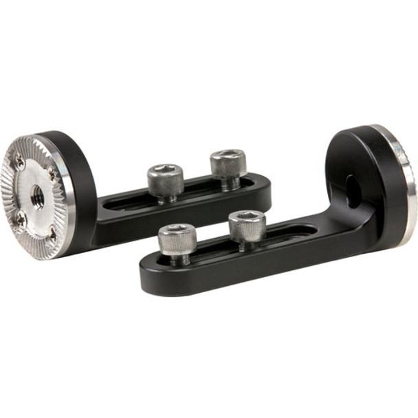 Tilta 1/4-20 Screw Mounting Slot to Arri Standard Rosette Adapters (pair)