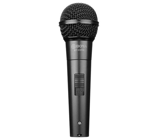 BOYA BY-BM58 Cardioid Dynamic Vocal Microphone