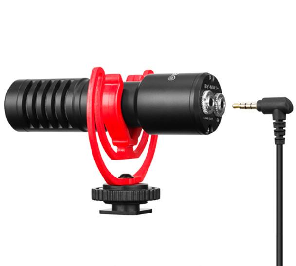 BOYA BY-MM1+ Super-Cardioid Condenser Shotgun Micophone