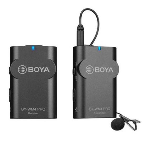 BOYA BY-WM4 PRO-K3 Digital Wireless Microphone (Lightning Receiver + TX)