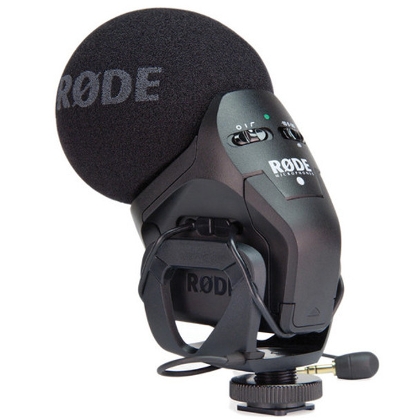 Rode Stereo VideoMic Pro With Rycote