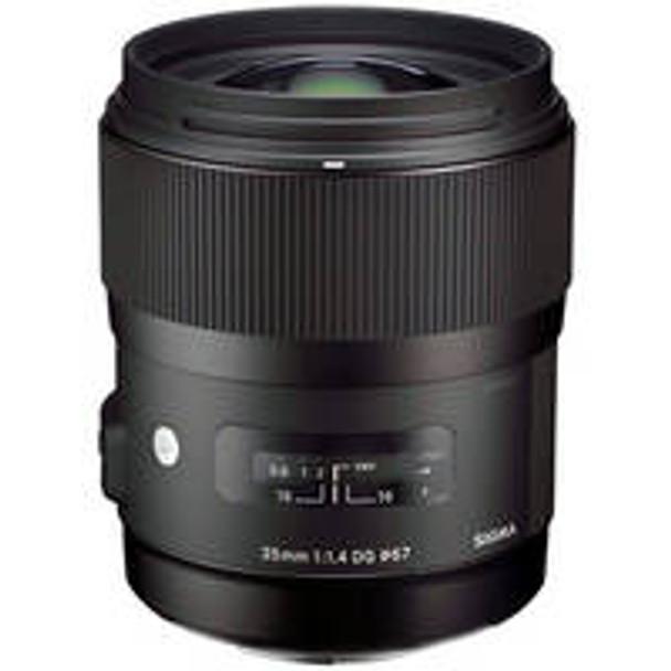 "Sigma 35mm f/1.4 DG HSM ""A"" for Nikon"